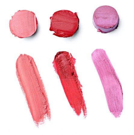 Lipstick make up beauty smudged