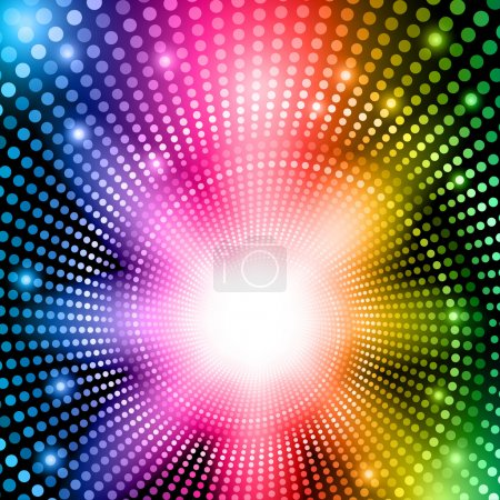 Rainbow abstract lights