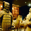 Famous Terracotta warriors and horses in Xian Chin...
