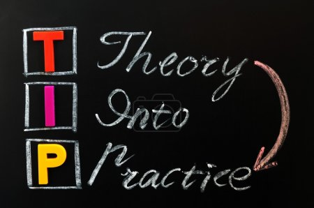 Acronym of TIP - Theory into Practice
