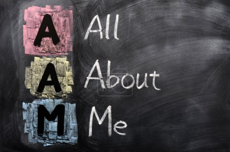 Acronym of AAM for All About Me