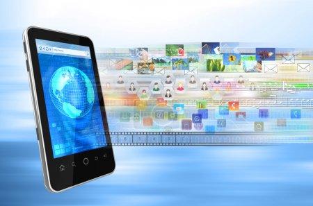 Smartphone internet browser