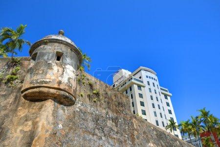 Photo pour Fort san felipe del moro à san juan, Porto rico - image libre de droit