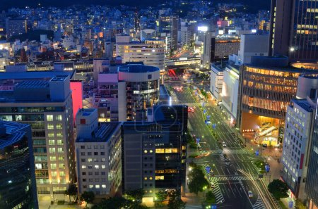 Photo pour Centre-ville de Kobe, Japon - image libre de droit