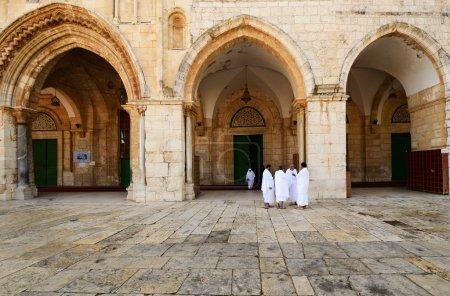 Pilgrims at Al Aqsa