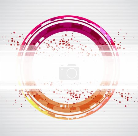 Abstract color background. Vector