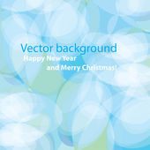 Modern soft blue background for your Christmas design Vector