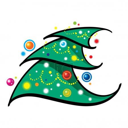 Christmas Tree holiday new year bright