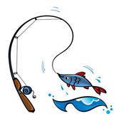 Fishing rod fish sport leisure sea ocean river