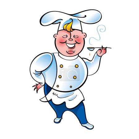 Chief Cook kitchen restaurant menu appetite food soup spoon