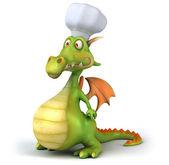 Drak šéfkuchař 3d