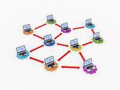 Obchodní síť koncepce