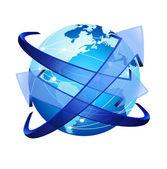 Arrow Around the Globe