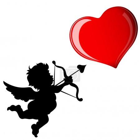 Cupid Target Heart
