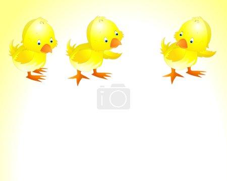 Illustration of Easter Chicken