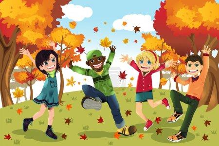 Autumn Fall season kids