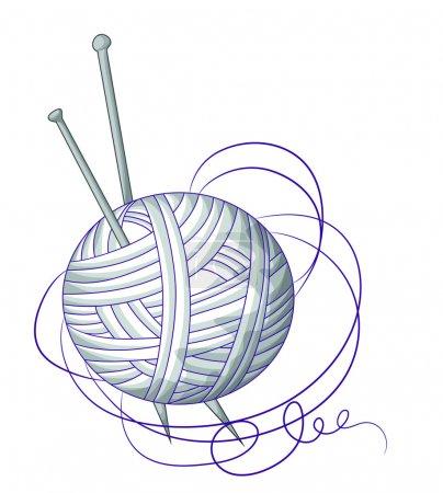 A ball of yarn