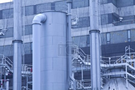 Gas processing plants in Hong Kong