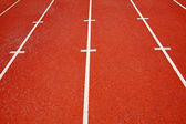 Running track in abstract view