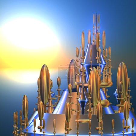 Fairytale fantasy city 1