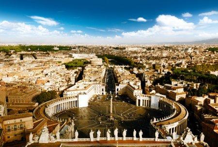 Vatican square of saint Peter