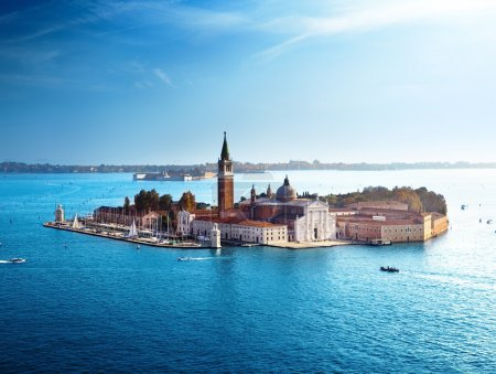 Photo for View of San Giorgio island, Venice, Italy - Royalty Free Image