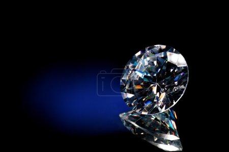 Diamond blue background