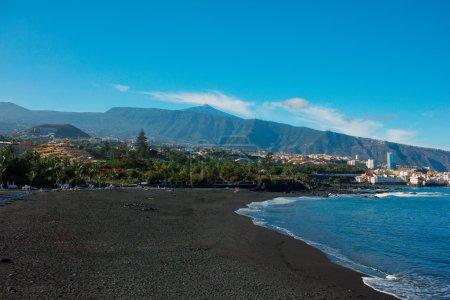 Playa Jardin, Puerto Cruz, Tenerife, Spain