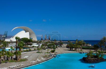 Photo for Water front of Santa Cruz de Tenerife, Spain - Royalty Free Image