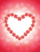 Růžové srdce