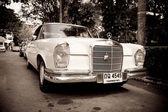 HUA HIN - DECEMBER 19: Old Mercedes on Vintage Car Parade 2009 a