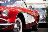 Hua hin - december 19: chevrolet corvette kabrió, 1960. Vin