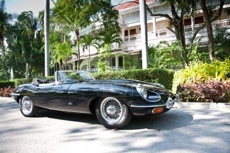 Jaguar EType on Vintage Car