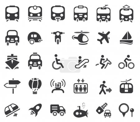 Transportation Vector Icons