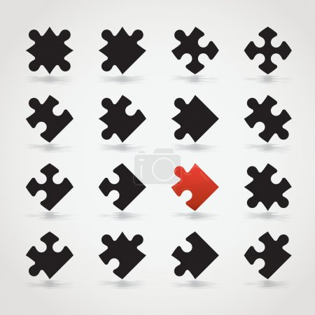 All Possible Shapes of Jigsaw Pieces...