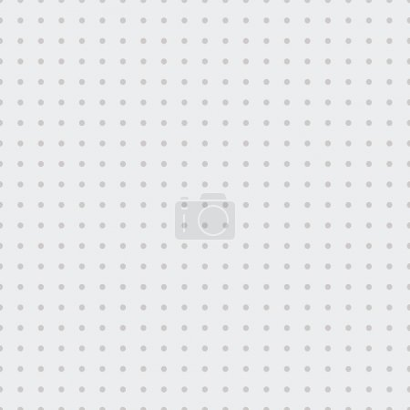 Seamless Dots Background. Vector illustration...