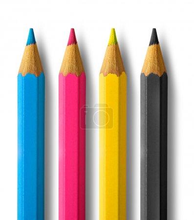 Farbstifte cmyk