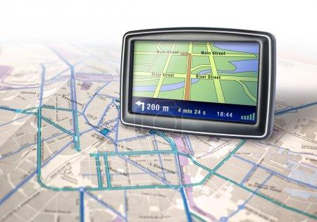 Gps navigator device