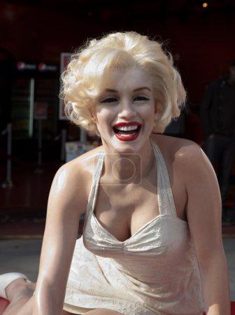 Hollywood, CA - January 19: A lifesize wax figure ...