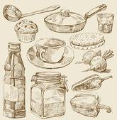 "Постер, картина, фотообои ""кухня установлена"""
