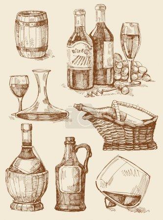 Illustration pour Illustration vectorielle originale dessinée à la main - image libre de droit