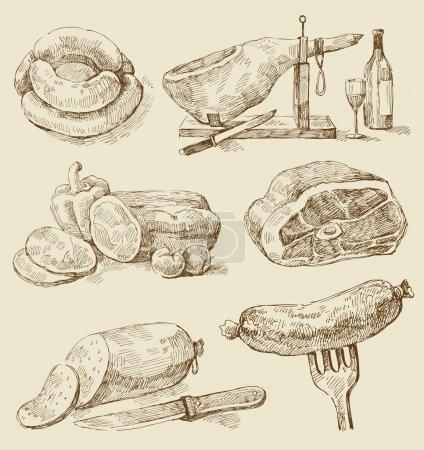 Ham, Sausages, Salami, Wiener, etc...