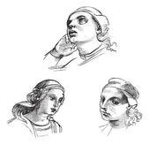 Kresby perem Raphael, na Akademii výtvarných umění v Benátkách