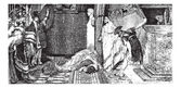 Caligula and Claude painting by Alma-Tadema (see p 367) - Draw