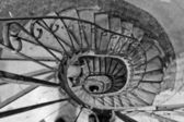 Old spiral stairs