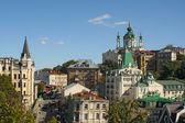 Andriyivsky uzviz, Kyiv, Ukraine