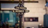 Rodeo Drive-Zeichen