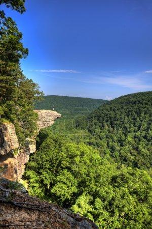 Hawksbill Crag Hiker