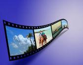 Fotografie z dovolené filmový pás