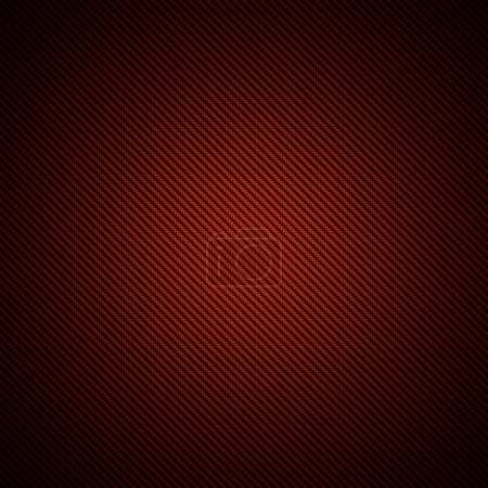 Realistic red carbon fiber background